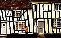 Two old houses at Lavenham